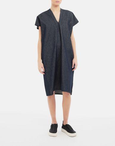 DRESSES Denim dress Blue
