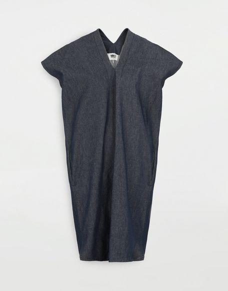 MM6 MAISON MARGIELA Denim dress Short dress Woman f