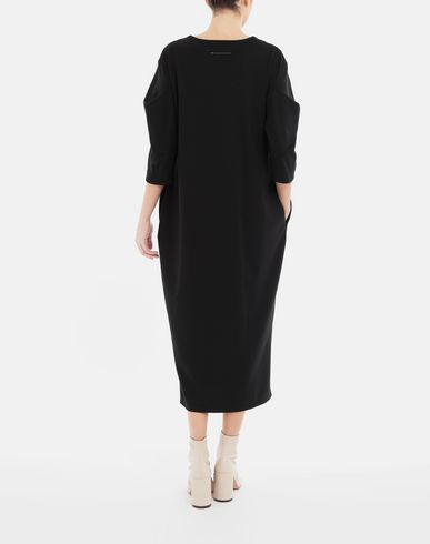 DRESSES Puff-sleeves dress Black