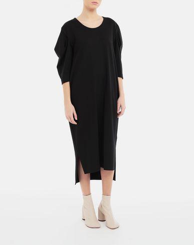 ワンピース・ドレス パフスリーブ ドレス ブラック