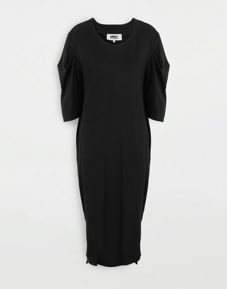 MM6 MAISON MARGIELA Puff-sleeves dress 3/4 length dress Woman f