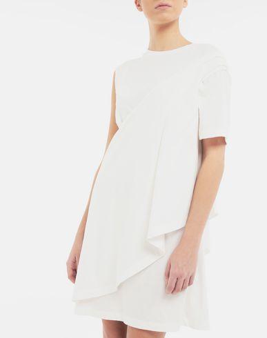 DRESSES Dual-wear T-shirt dress White