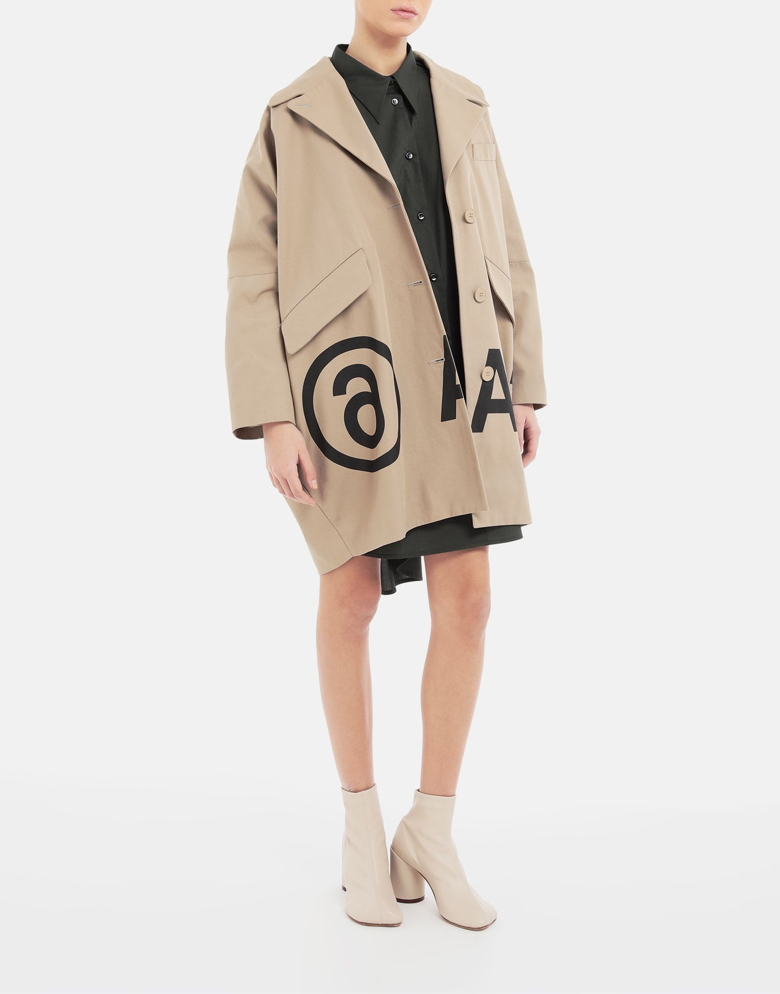 MM6 MAISON MARGIELA Oversized shirt-dress Dress Woman d