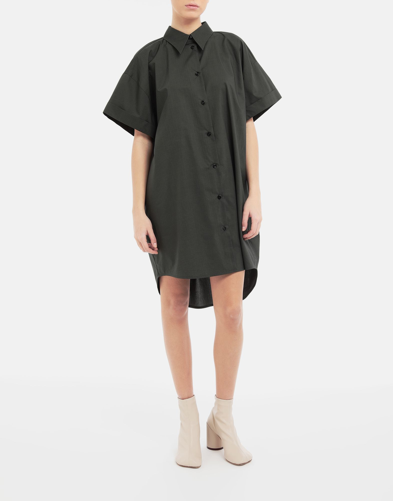 MM6 MAISON MARGIELA Oversized shirt-dress Dress Woman r