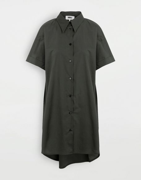 MM6 MAISON MARGIELA Oversized shirt-dress Dress Woman f