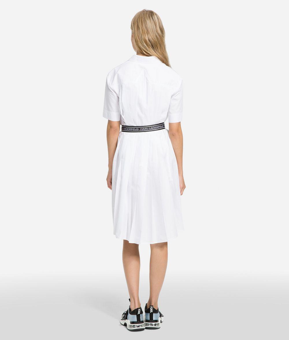 KARL LAGERFELD K/Karlifornia Poplin Shirt Dress Dress Woman d