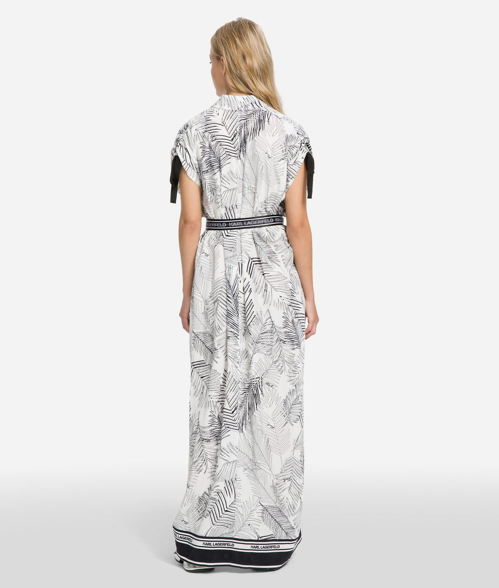 KARL LAGERFELD K/Karlifornia Maxi Shirt Dress Dress Woman d