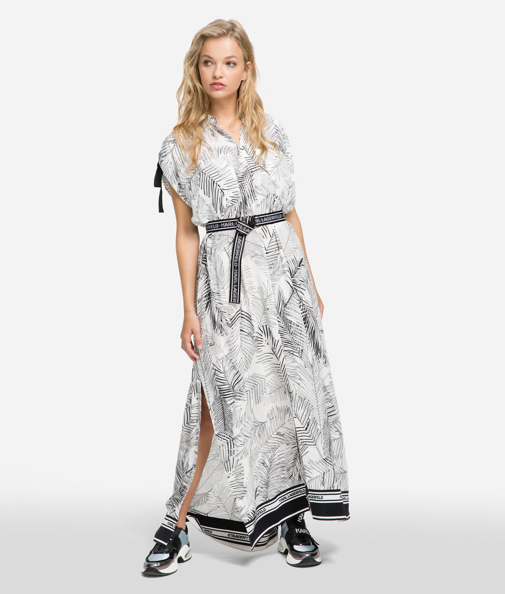 KARL LAGERFELD K/Karlifornia Maxi Shirt Dress Dress Woman f