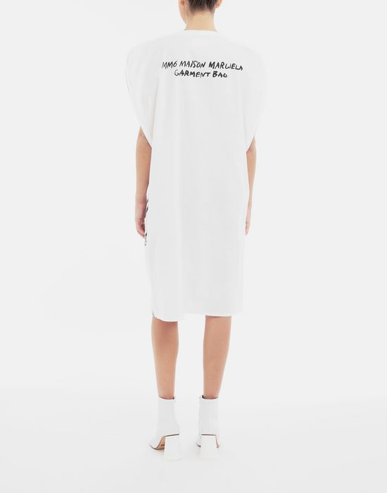 MM6 MAISON MARGIELA Trace Marked printed garment bag dress 3/4 length dress [*** pickupInStoreShipping_info ***] e