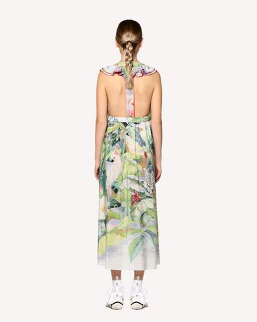 REDValentino RR0VAC70KRV NV1 Printed dress Woman r