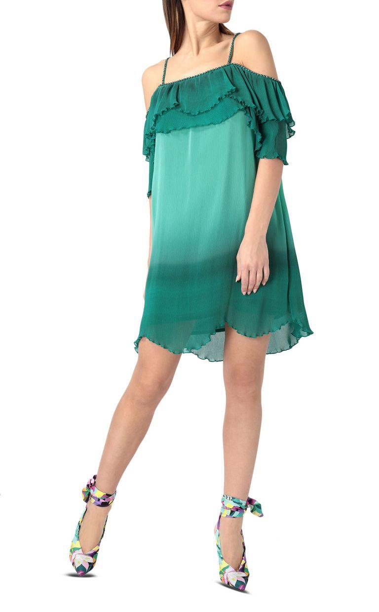 JUST CAVALLI Pleated mini dress Short dress Woman d