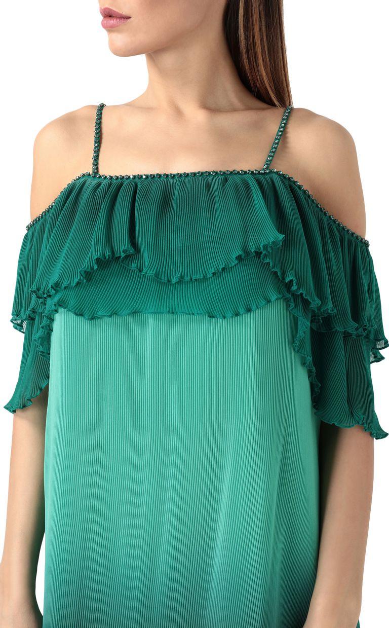 JUST CAVALLI Pleated mini dress Short dress Woman e