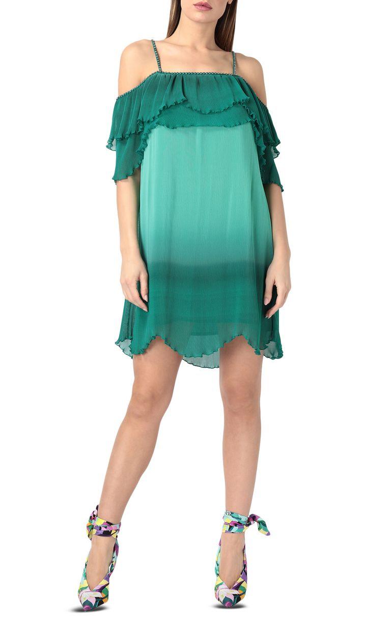 JUST CAVALLI Pleated mini dress Short dress Woman f
