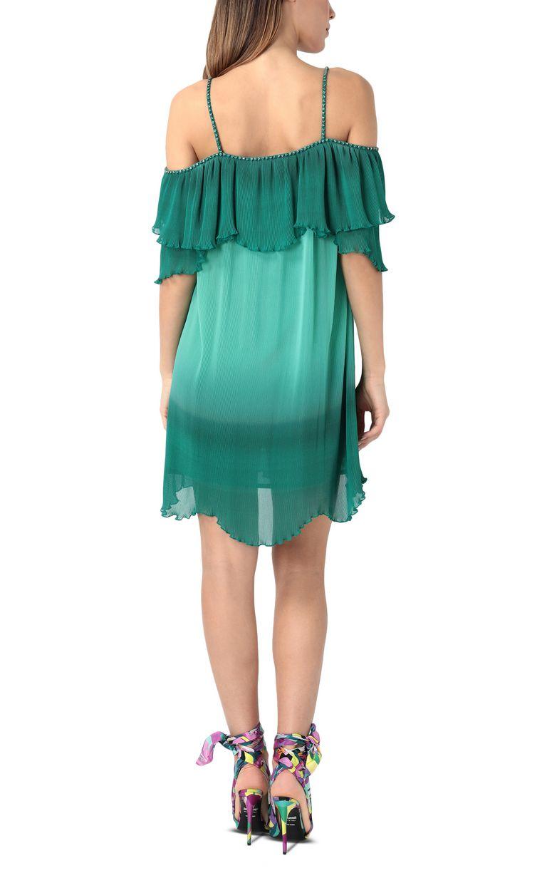 JUST CAVALLI Pleated mini dress Short dress Woman r