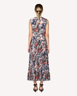 REDValentino Wild Pride printed dress