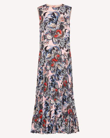 REDValentino RR0VAC15EIX GS7 Printed dress Woman a