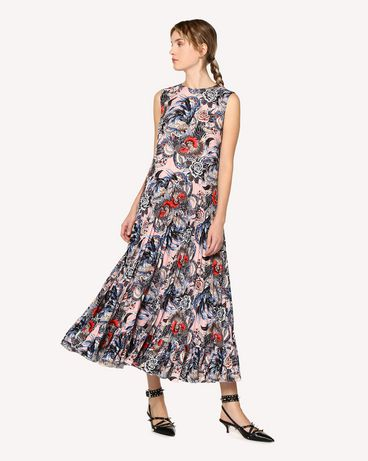 REDValentino RR0VAC15EIX GS7 Printed dress Woman d