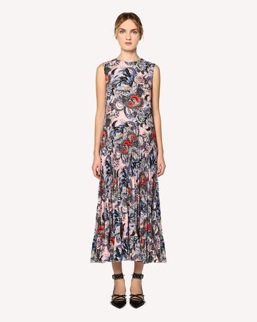 REDValentino RR0VAC15EIX GS7 Printed dress Woman f