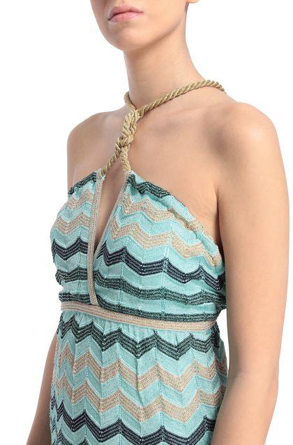 M MISSONI Платье Светло-зелёный Для Женщин - Передняя сторона