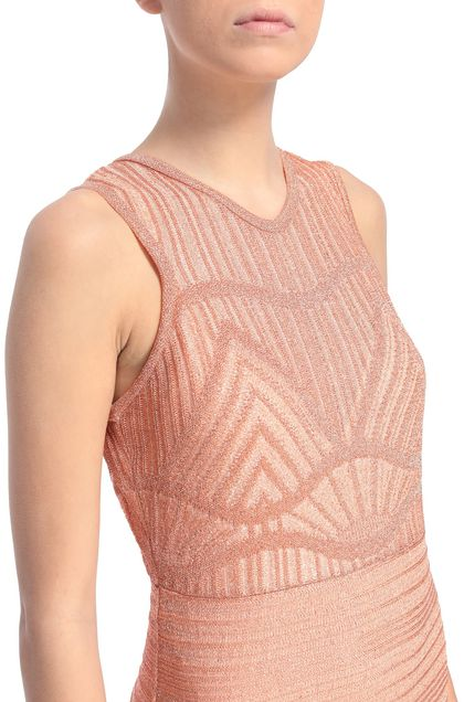 M MISSONI Dress Skin color Woman - Front