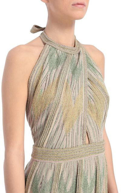 M MISSONI Dress Sand Woman - Front