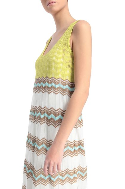 M MISSONI Long dress White Woman - Front