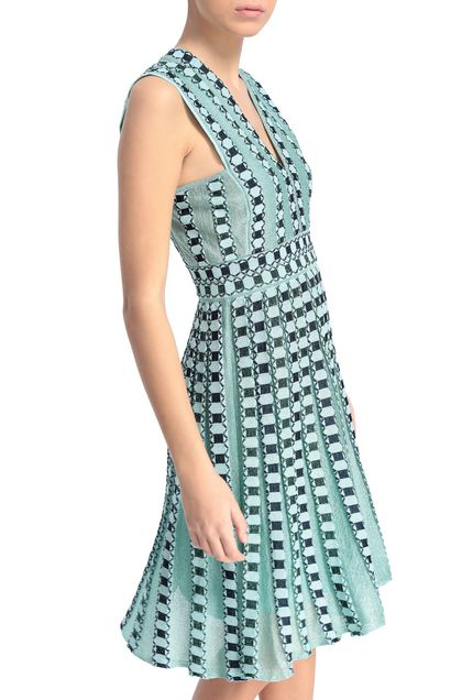 M MISSONI Dress Sky blue Woman - Front