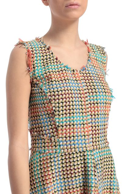 M MISSONI Dress Turquoise Woman - Front