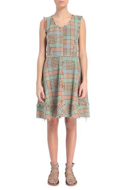 M MISSONI Dress Turquoise Woman - Back