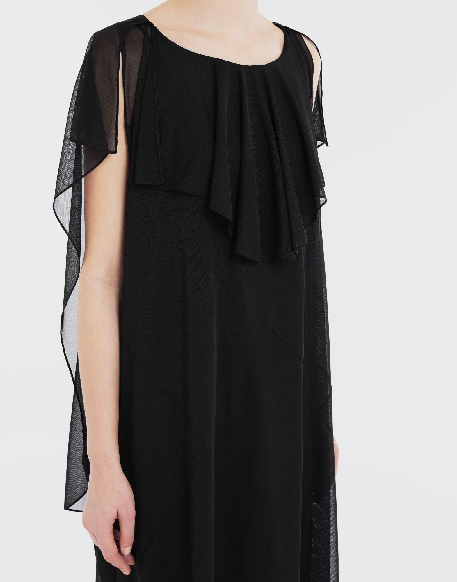 MAISON MARGIELA Sheer jersey dress Long dress Woman a
