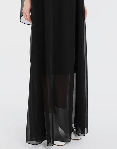 MAISON MARGIELA Sheer jersey dress Long dress Woman b