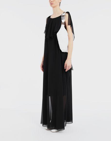 MAISON MARGIELA Sheer jersey dress Long dress Woman d