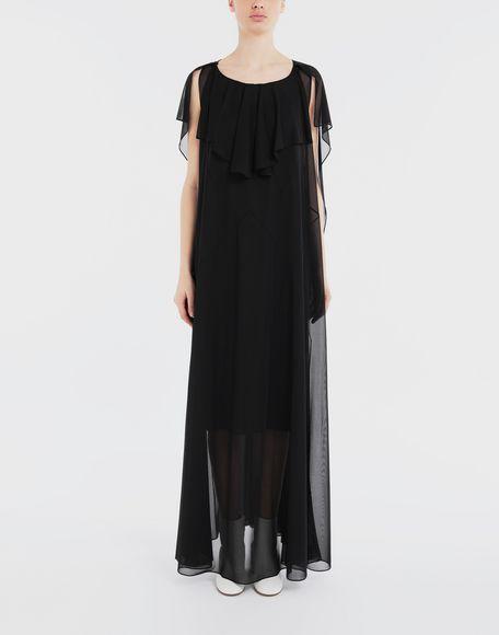 MAISON MARGIELA Sheer jersey dress Long dress Woman r