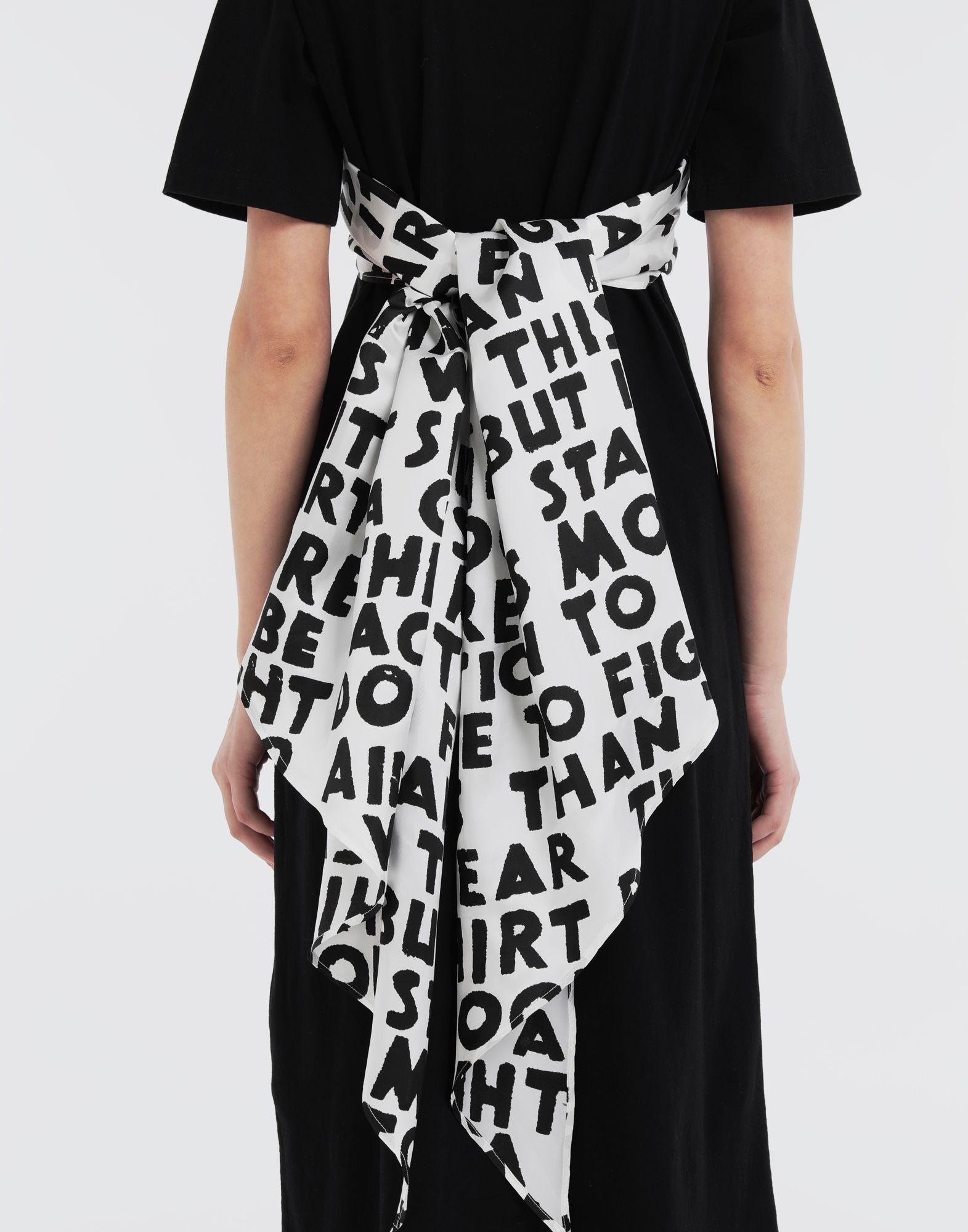 MM6 MAISON MARGIELA Scarf tie dress Short dress Woman b