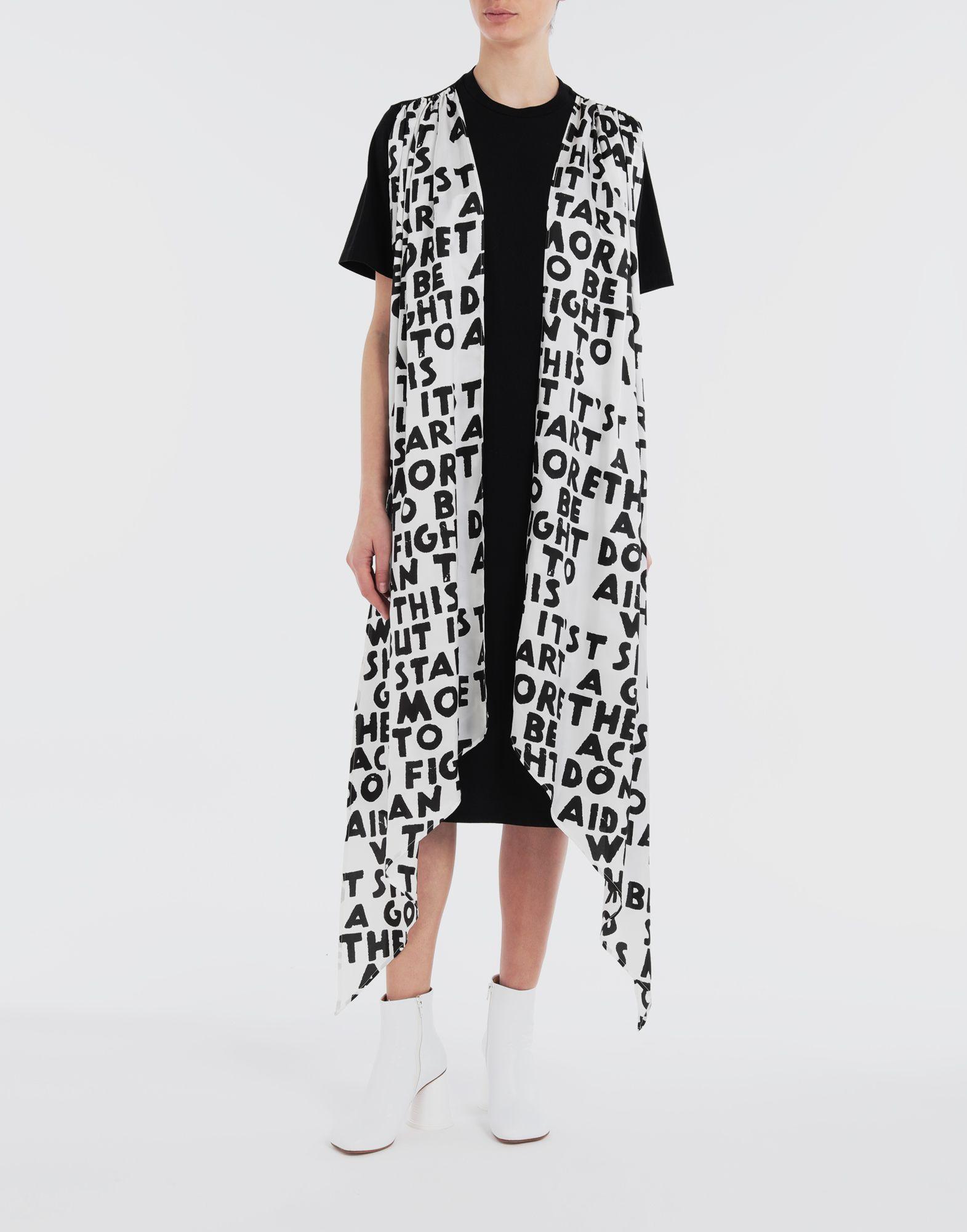 MM6 MAISON MARGIELA Scarf tie dress Short dress Woman d