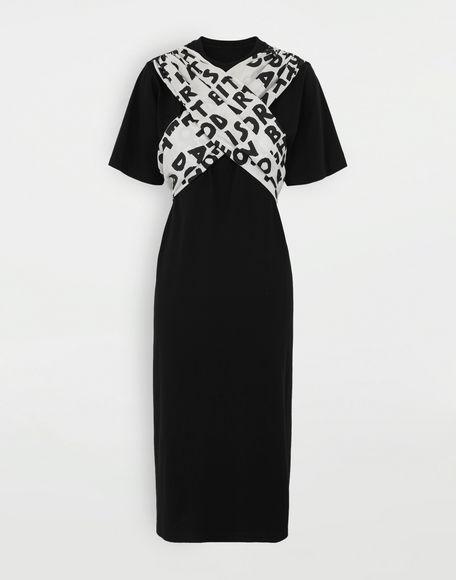 MM6 MAISON MARGIELA Scarf tie dress Short dress Woman f