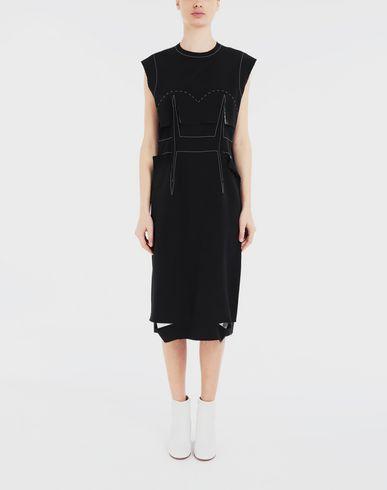 DRESSES Décortiqué embroidered dress