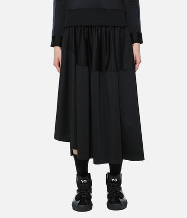 Y-3 3/4 length skirt Woman Y-3 Firebird Track Skirt r