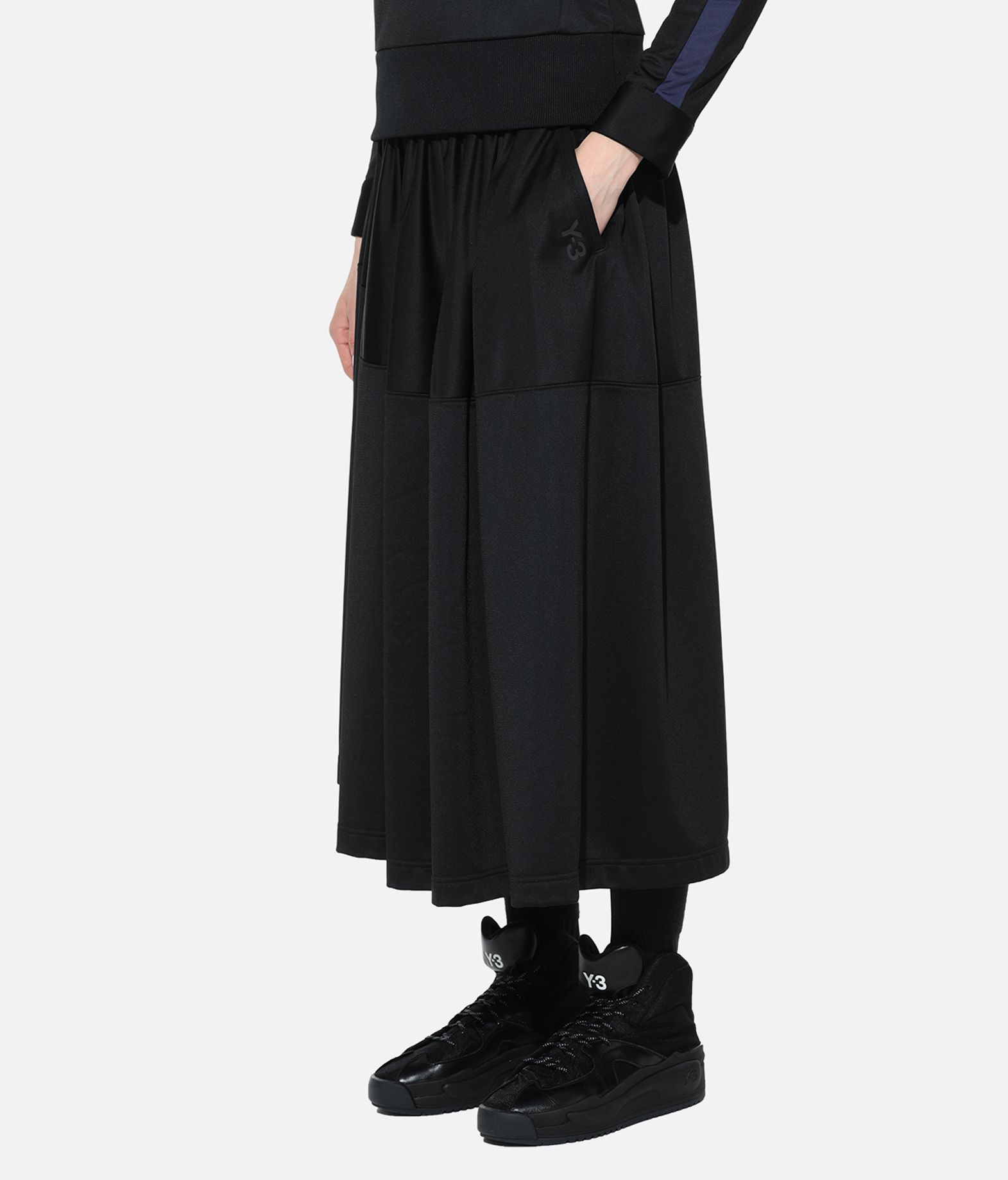 Y-3 Y-3 Firebird Track Skirt 3/4 length skirt Woman e