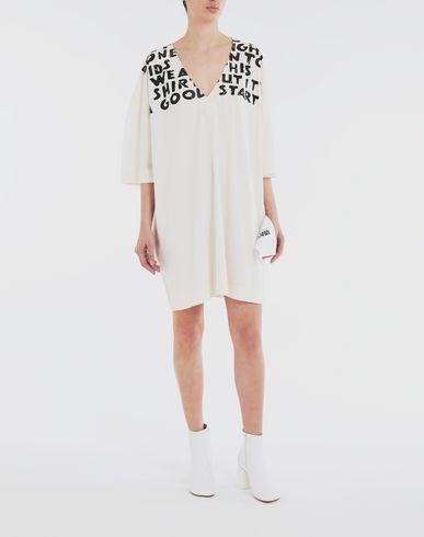 DRESSES Charity AIDS-print dress