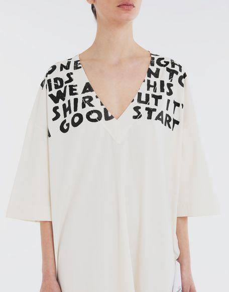 MM6 MAISON MARGIELA Charity AIDS-print dress Short dress Woman a