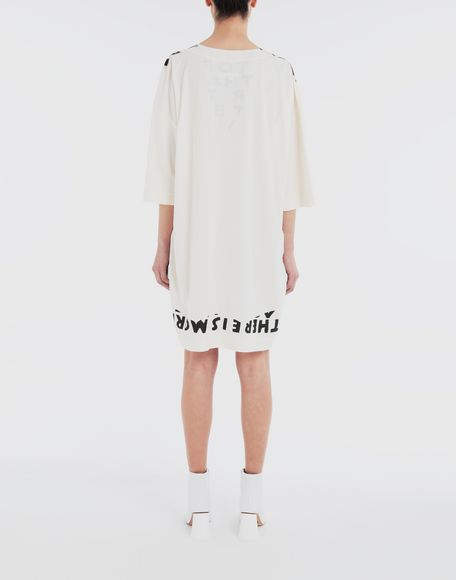 MM6 MAISON MARGIELA Charity AIDS-print dress Short dress Woman e