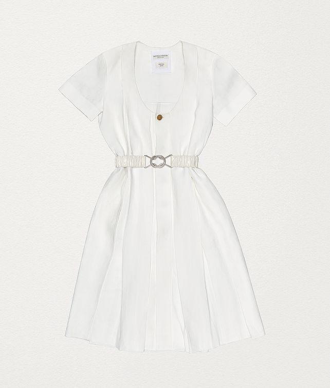 BOTTEGA VENETA リネン ドレス ドレス レディース fp