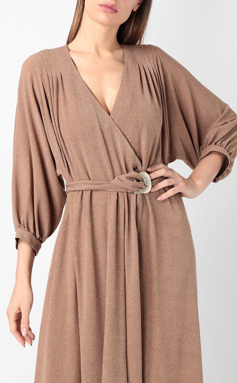 JUST CAVALLI Belted lurex dress Dress Woman e