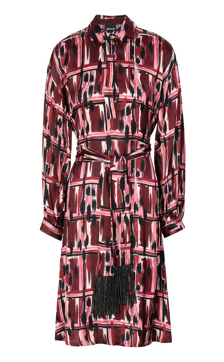"""JUST CAVALLI """"Wild-Tartan"""" print dress Dress Woman f"""