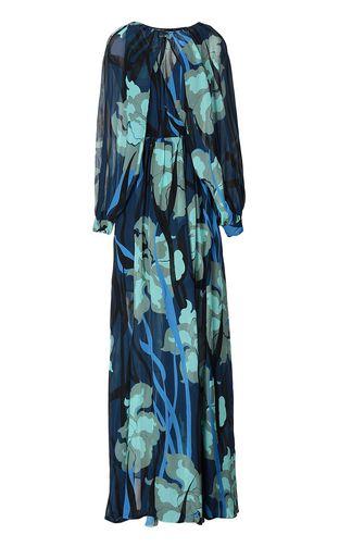 """JUST CAVALLI Dress Woman Full-length """"Hidden-Flowers"""" dress f"""