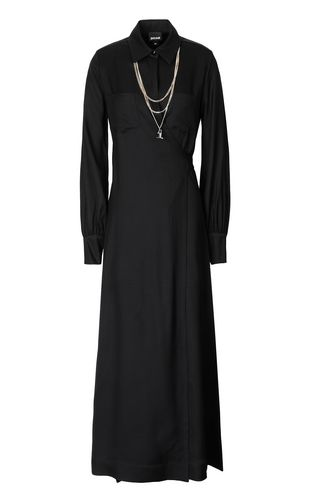 JUST CAVALLI Dress Woman Long dress with chain f