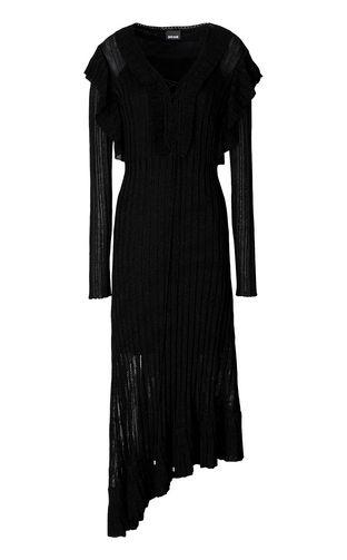 Long dress in lurex
