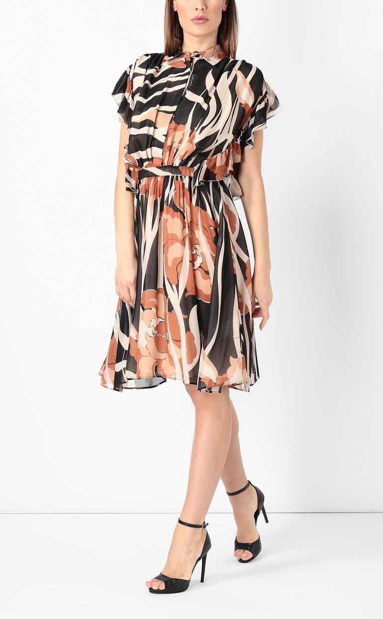 "JUST CAVALLI ""Hidden-Flowers""-print dress Dress Woman d"