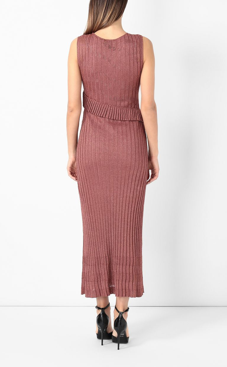 JUST CAVALLI Long dress in lurex Dress Woman a